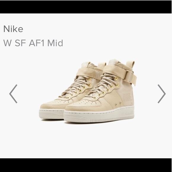 Nike Air Force 1 low  mushroom  NWT